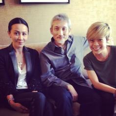 Carina Lau and director Xu Ke