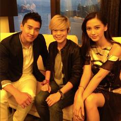 Mark Zhao and Angelababy