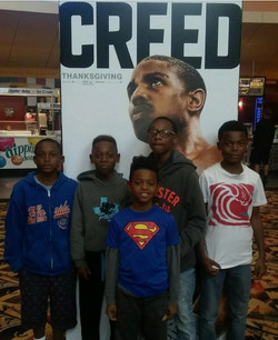 HORNETS MOVIE NIGHT ...CREED