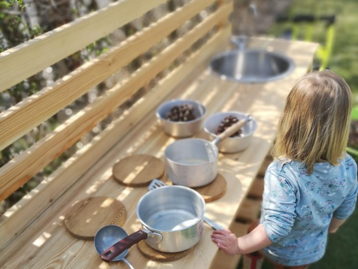 Mud Kitchen - Crêche Wild Child - Pays du Mont-Blanc