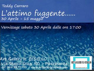 """Teddy Carraro presenta """"L'Attimo fuggente........."""" mostra di scultura e pittura dal 3"""