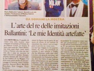 """DARIO BALLANTINI """"Identità Artefatte"""""""