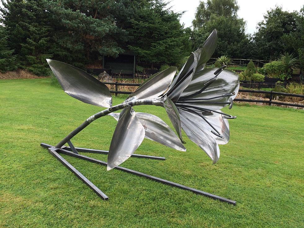 Handmade Metal Garden Sculpture