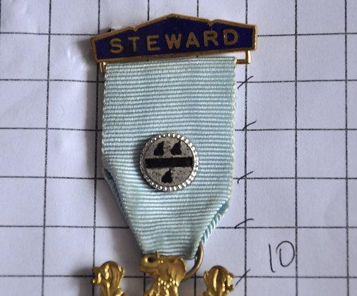 STEWARD 1969 / R.M.I.B / 4x10cm