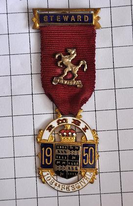 STEWARD 1950 / R.M.B.I / INVICTA / 4x10cm