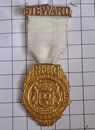 STEWARD 1948 / R.M.I.G / 4x9cm