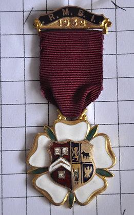 STEWARD 1952 / R.M.B.I / 3x9cm