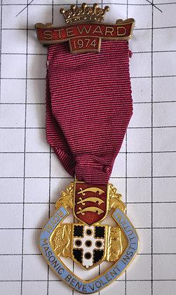 STEWARD 1974 / R.M.B.I / 4x12cm