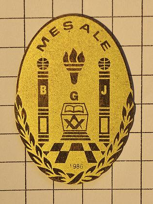 MEŞALE 1986 / 4x7 cm