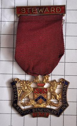 STEWARD 1976 / R.M.B.I / 4x9cm