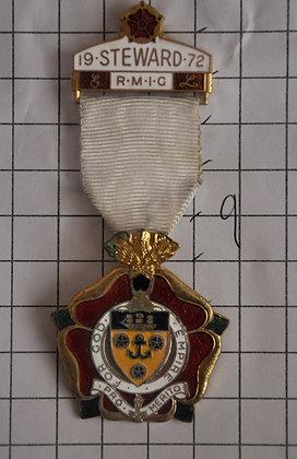 STEWARD 1972 / R.M.I.G / 3x9cm