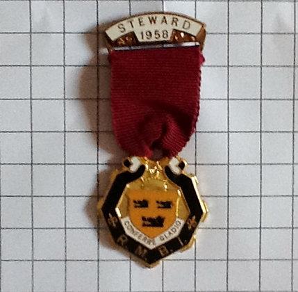 STW100_005 / STEWARD 1958 / 3x8 cm
