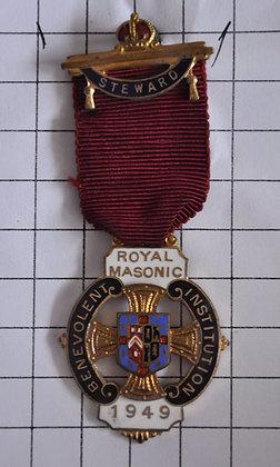 STEWARD 1949 / R.M.B.I / 3x9cm