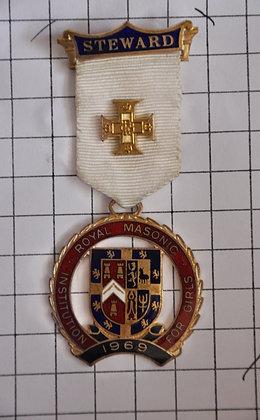 STEWARD 1960 / R.M.I.G / 3x9cm