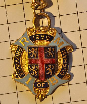 Steward / R.M.B.I 1959 / 4x8 cm