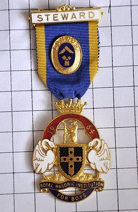 STEWARD 1965 / R.M.I.B / LONDON / 4x10cm