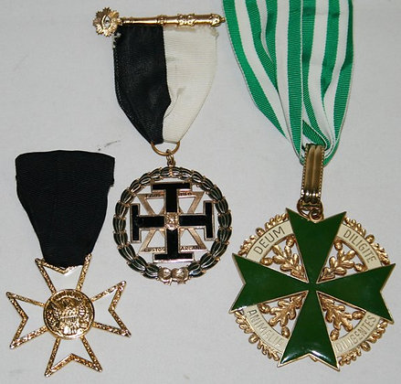 Set of Knigth Templar Medals