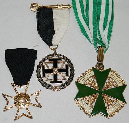 Set of Knigth Templar Medals