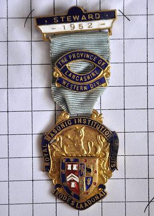 Steward 1952 / R.M.I.B / 4x8cm