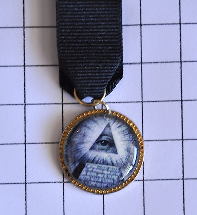Masonic Medal / 9x2 cm