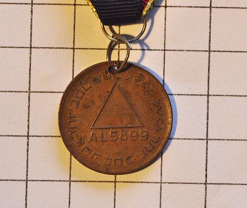Masonic Token AL5899 / 3x9 cm