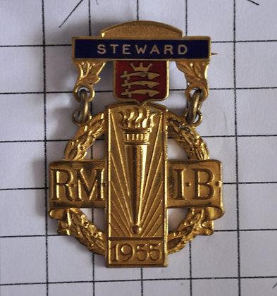 STEWARD 1955 / R.M.I.B / 3x6cm