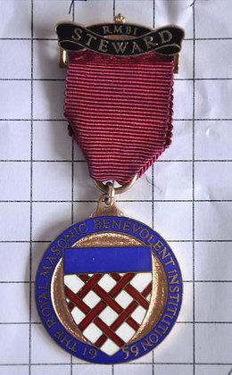 STEWARD 1959 / R.M.B.I / 3x9cm