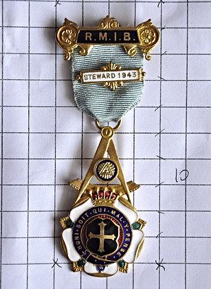 STEWARD 1943 / R.M.I.B / 4x10cm