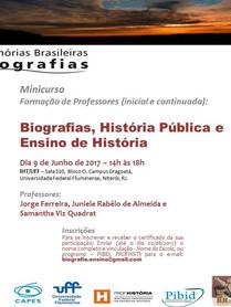 Minicurso Biografias junho 2017