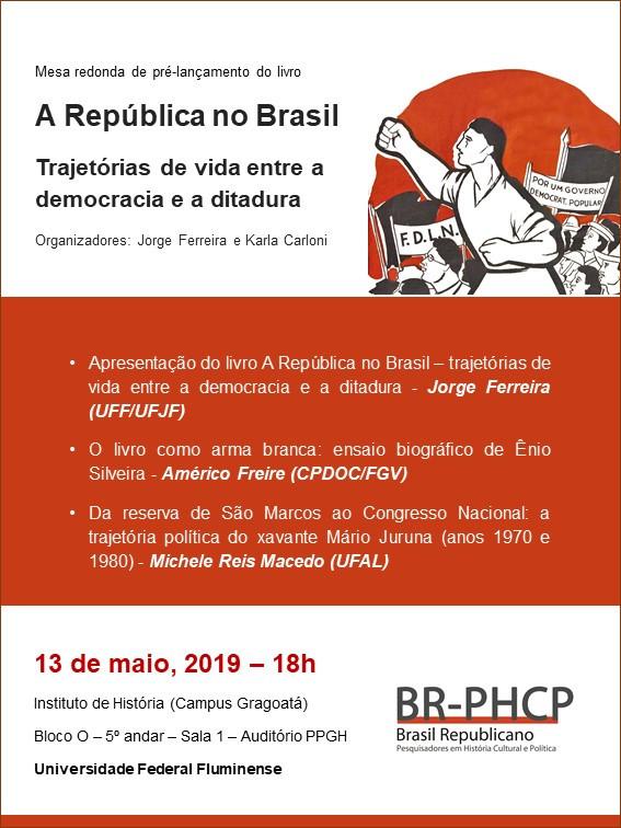 A República no Brasil - maio 2019
