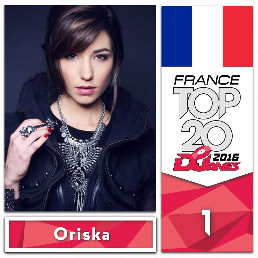 World anked 16 Th / 1st French Djane