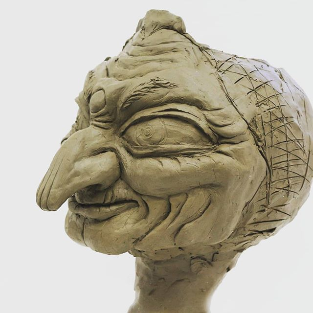 Sculpt of Yubaba, November 2018