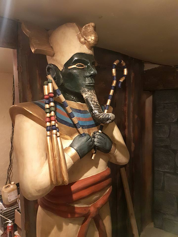 Osiris Statue 'Cryptic Escape', March 2018