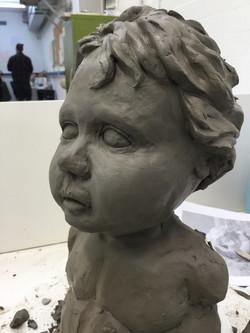 Cherub Sculpt, January 2018