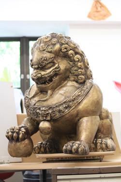 Komainu Lion Statue, May 2019