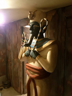 Osiris Statue 'Cryptic Escape', March 2018