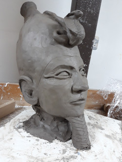Osiris Maquette Clay Sculpt, February 2018