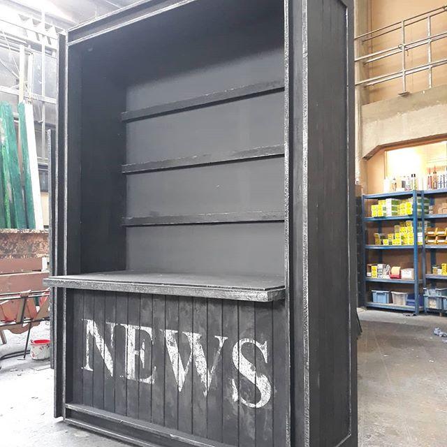 Scenic Art 'News Stand', February 2019
