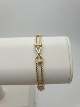 9ct Diamond Set Bracelet