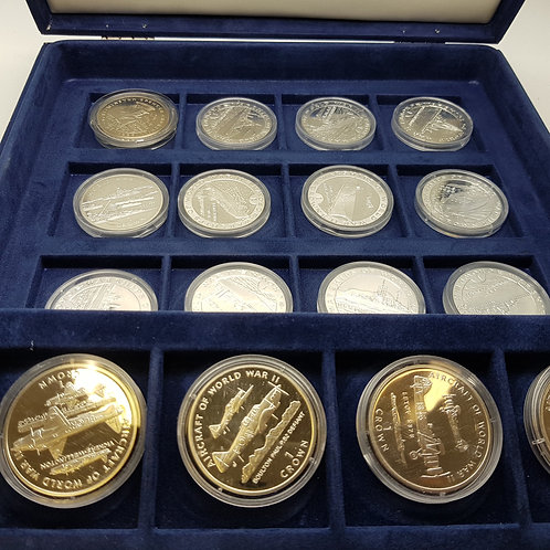 The End of WWII Boxed Coin Set