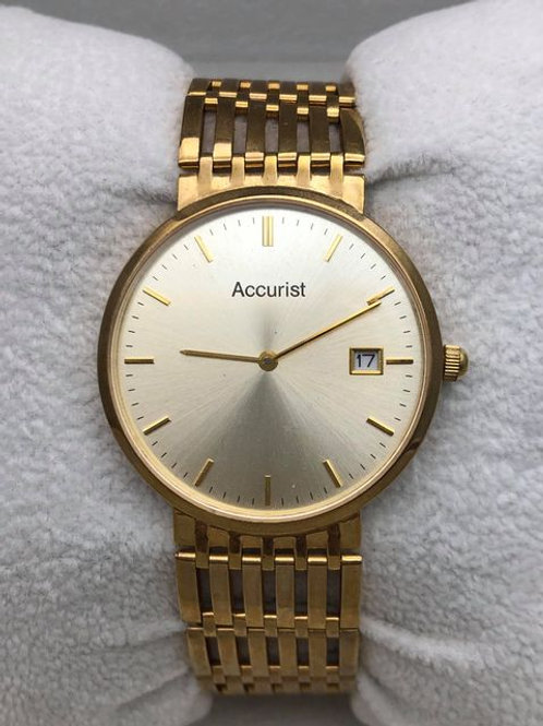9ct Accurist Watch