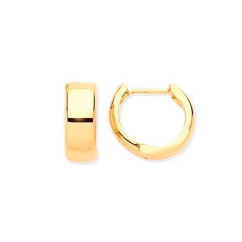 Yellow Gold Huggies Earrings