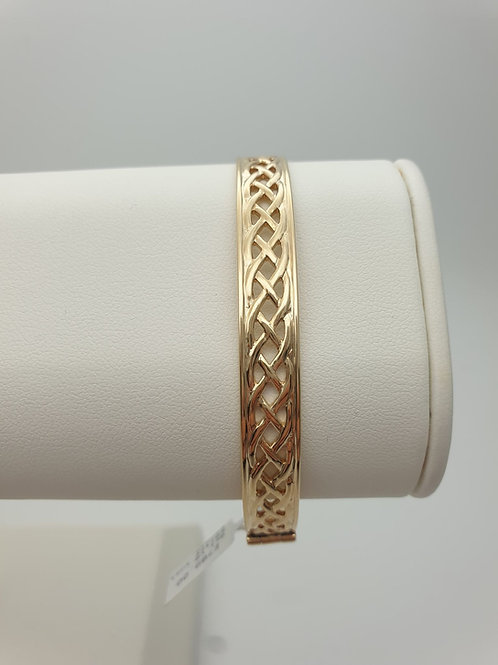 9ct Celtic Knot Bangle