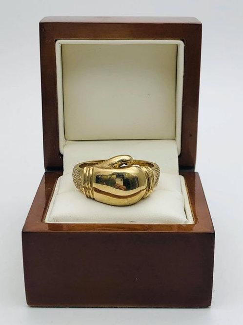 9ct Boxing Glove Ring