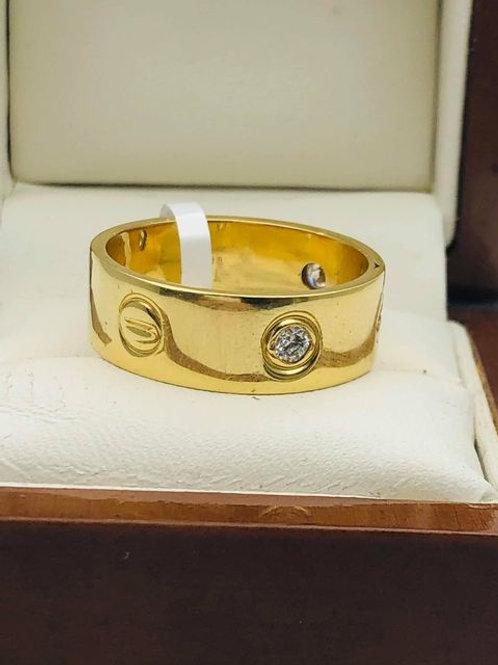 18ct Diamond Cartier Style Ring