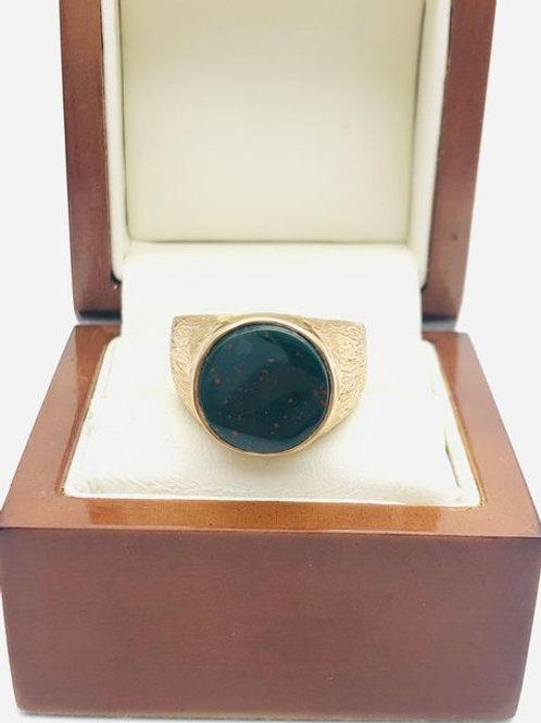 9ct Bloodstone Ring
