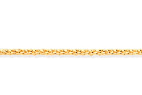 Yellow Gold Spiga Chain