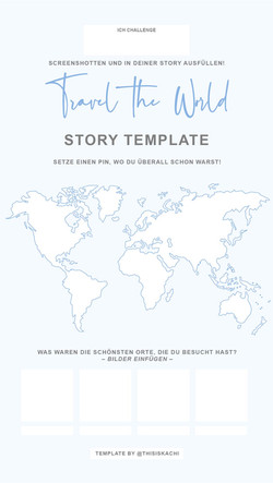 TRAVEL THE WORLD TEMPLATE