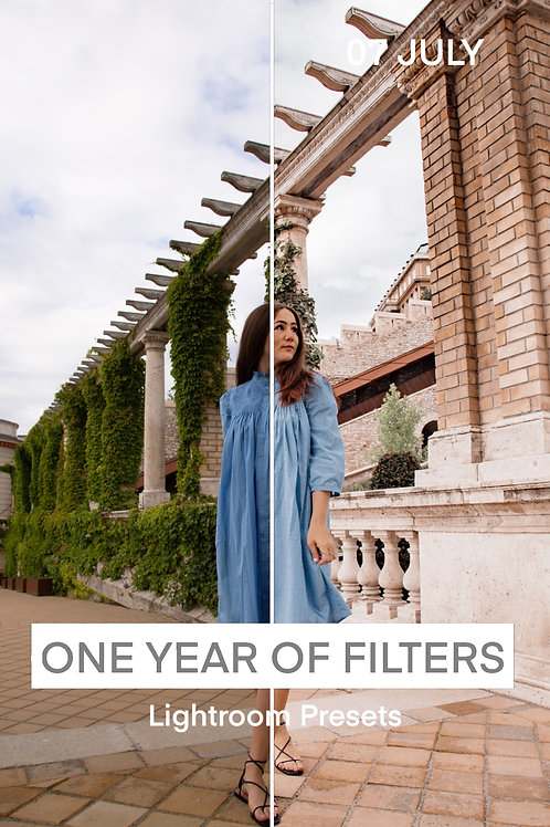 ONE YEAR OF FILTERS - 07 JULY