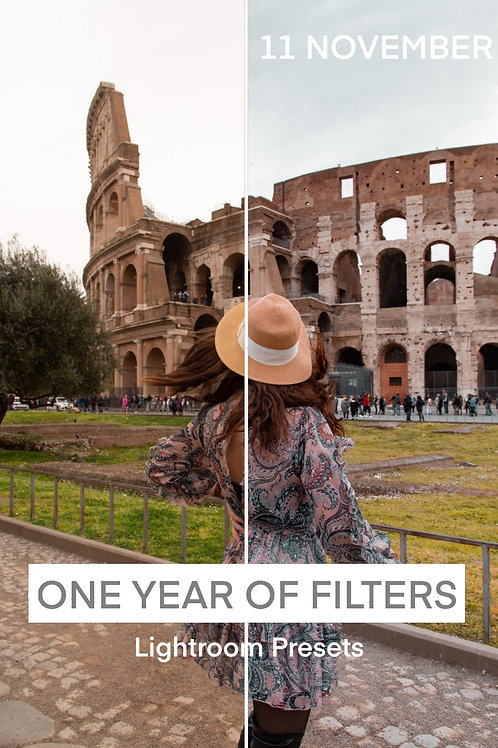 ONE YEAR OF FILTERS - 11 NOVEMBER